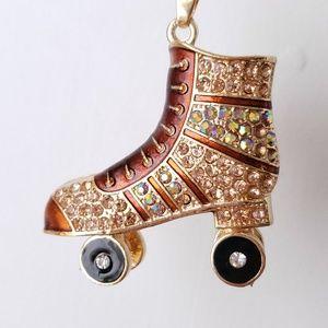Old-Fashioned Rollerskate Bracelet
